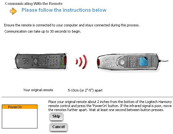 Harmony Universal Remote Instructions